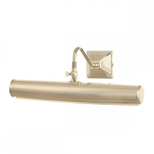 Elstead PL1/20 PB Picture Light Two Light Large Picture Light Polished Brass
